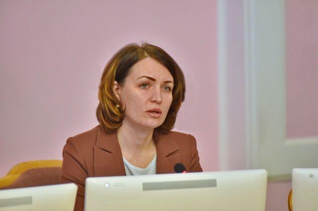 Оксана Фадина назначила своего заместителя.