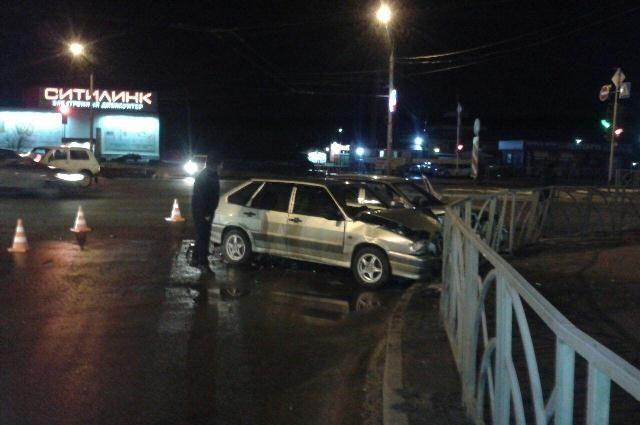 Нетрезвый шофёр без прав устроил ДТП вСтаврополе напроспекте Кулакова