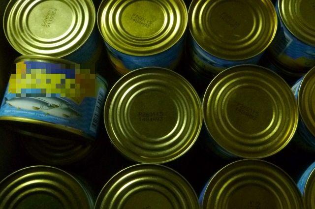 8,5 тонн некачественных рыбных и мясных консервов уничтожили в Калининграде.