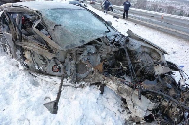Выпавший снегопад наСреднем Урале стал первопричиной 400 ДТП