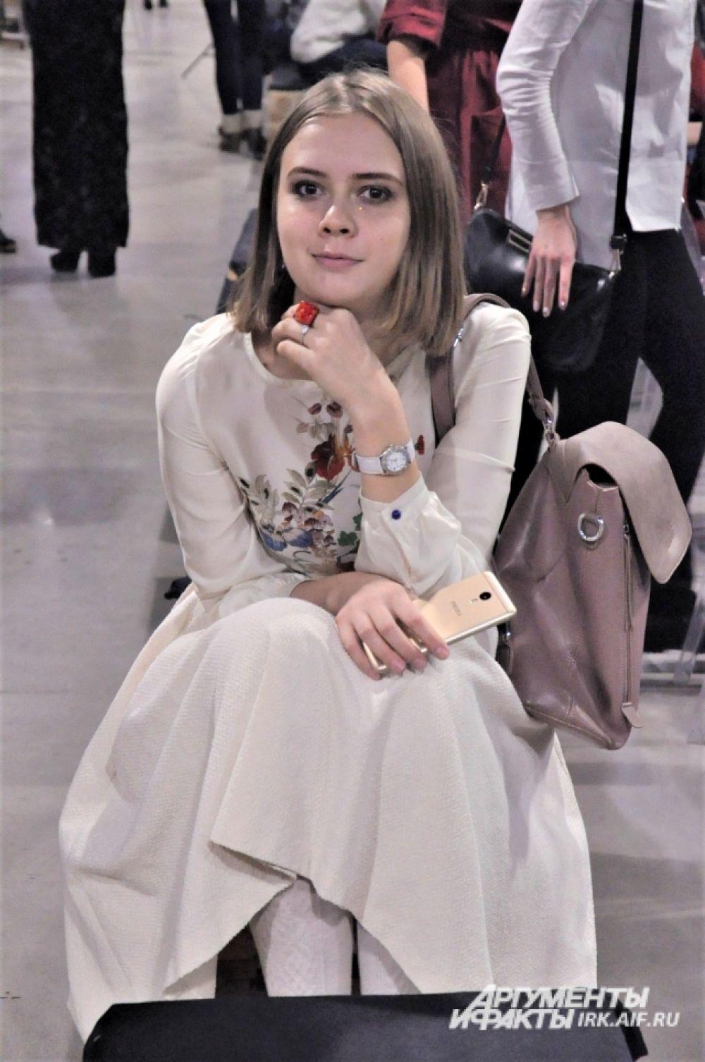 Иркутский дизайнер Полина Сорокина.