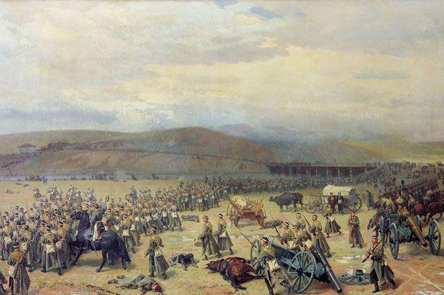 «Последний бой под Плевной» Н. Д. Дмитриев-Оренбургский.