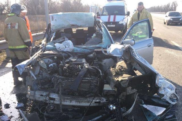 Автоледи на БМВ устроила ужасное ДТП вцентре Ростова— Пятеро ранены