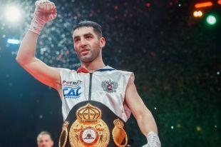 Миша Алоян завоевал титул чемпиона мира по версии WBA International.