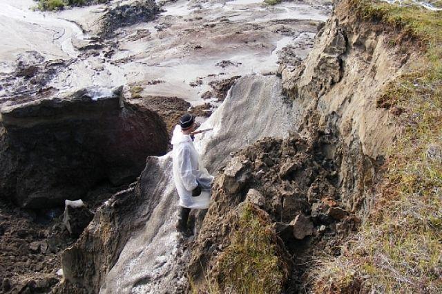 Ямальские воронки изучают учёные Сколково