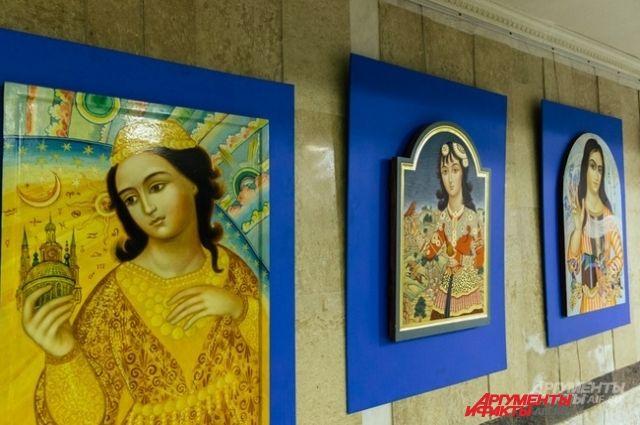 Несмотря на то, что женщина в Казанском ханстве не могла самостоятельно управлять государством, ханши оказывали большое влияние на политику.