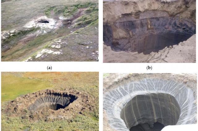 Географ МГУ обнаружил причину возникновения гигантских воронок в земле