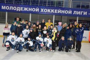 В Оренбурге открывается набор в хоккейную команду для глухих детей.