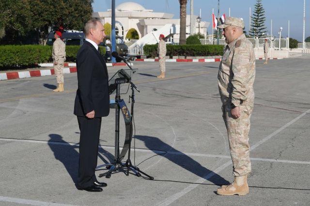 Суровикин доложил президенту РФ об итогах операции в Сирии