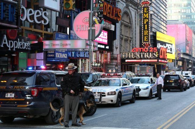 Взрыв в центре Нью-Йорка признали попыткой теракта