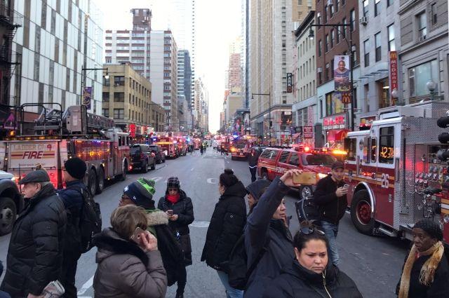 Стали известны подробности взрыва, произошедшего близ автовокзала Нью-Йорка