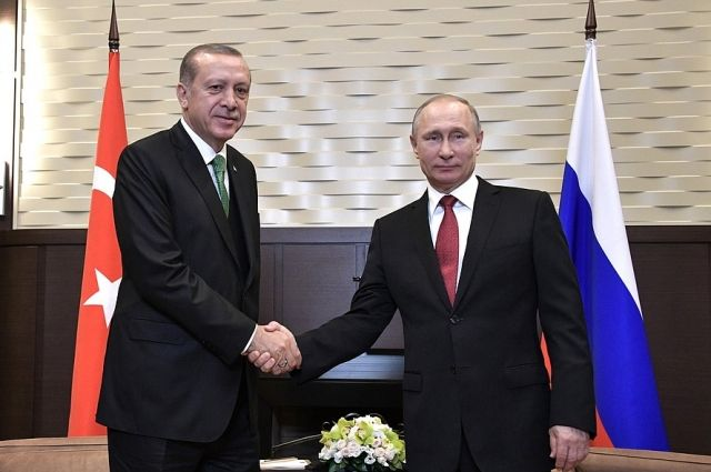 В Анкаре проходят переговоры президентов России и Турции