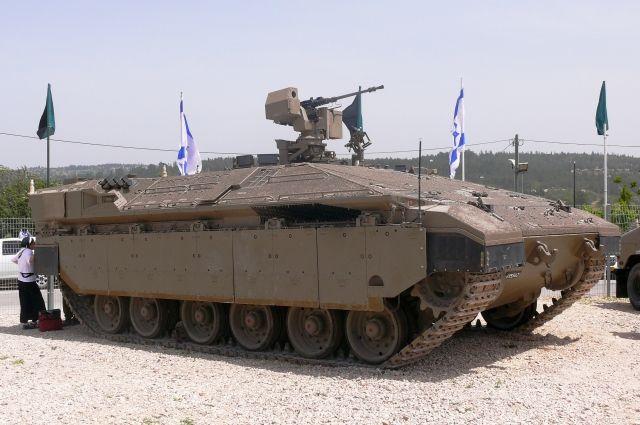 Израильская армия нанесла удар по палестинцам в секторе Газа