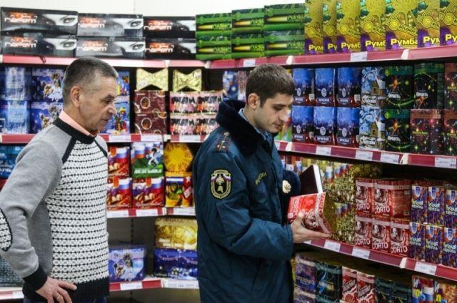 Перед Новым годом вВолгограде проверят магазины пиротехники