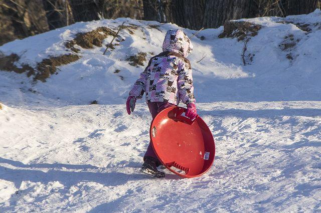 В областной столице выявят все опасные несанкционированные снежные горки.