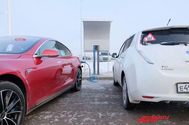 Ещё одна заправка для электромобилей заработала в Пермском крае.
