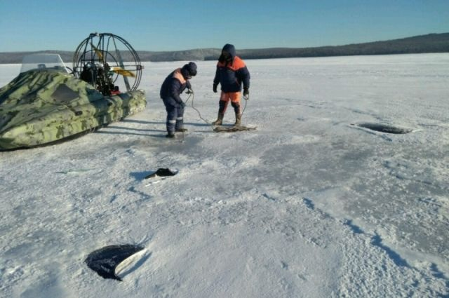Аппарат FALCON доставлен к месту падения вертолета под Иркутском