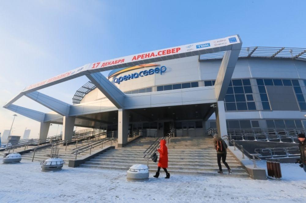 """""""Арена. Север"""" построена ещё в 2011 году. К универсиаде она будет реконструирована."""