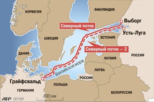 «Газпром»: все договоры для возведения «Северного потока— 2» подписаны