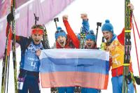 На Олимпиаде в Южной Корее российские спортсмены будут выступать под олимпийским флагом.