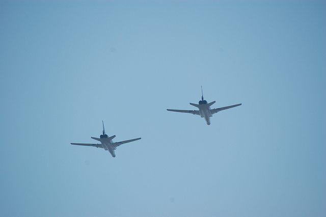 Ту-22М3 после выполнения боевых задач в Сирии вернулись в Калужскую область