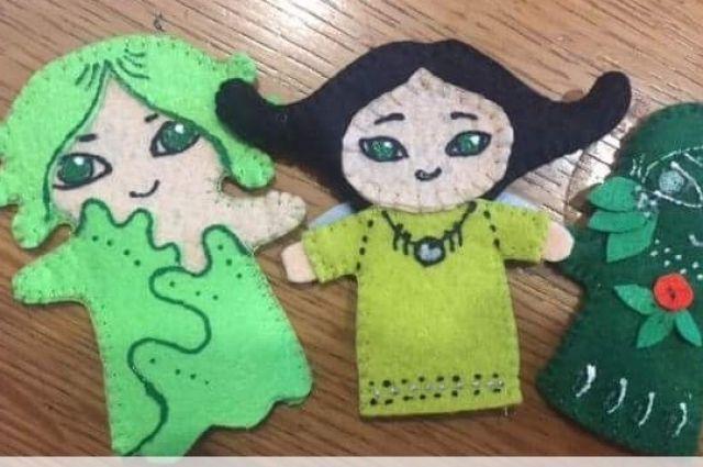 Вот такие игрушки вы научитесь шить.