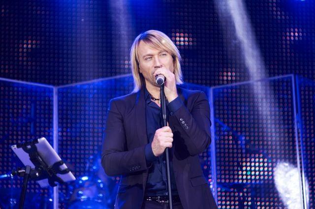 Олег Винник «растопил» сердца зрителей на Ледовой арене в Броварах
