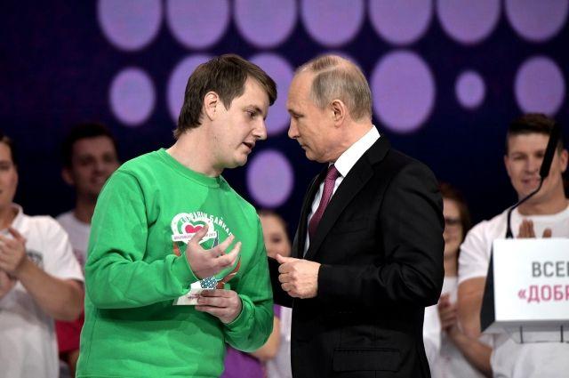 За пару секунд Максим Токарев успел рассказать президенту обо всех проблемах «колодца планеты».