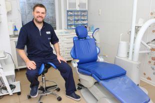 Стоматолог Сергей Лотоцкий.