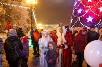 Иркутск готовится встретить Новый год.