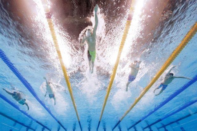 Пловец Александр Красных— чемпион Европы на400-метровке