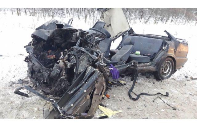 Вжестком ДТП натрассе Самара— Бугуруслан умер шофёр