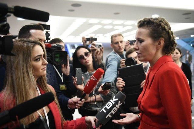 Собчак решила спросить Владимира Путина оНавальном ивыборах президента