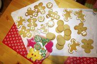 Имбирное печенье - один из символов Рождества.