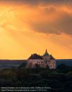 Олесский замок на фоне вечернего неба. Львовская область. 8 место. Сергей Рыжков