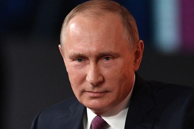 Путин пообещал, что Россия не будет втянута в гонку вооружений