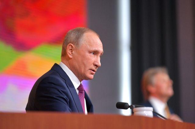 Путин оценил работу правительства России как удовлетворительную