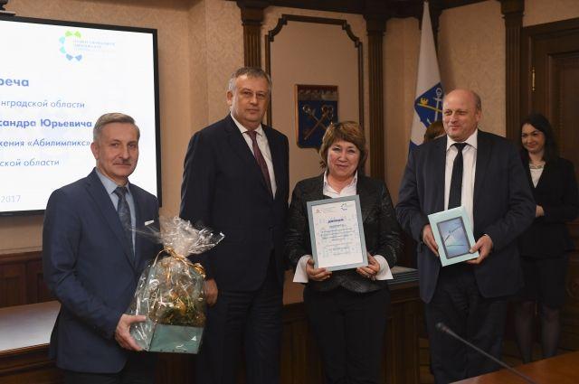 Александр Дрозденко наградил победителей чемпионата