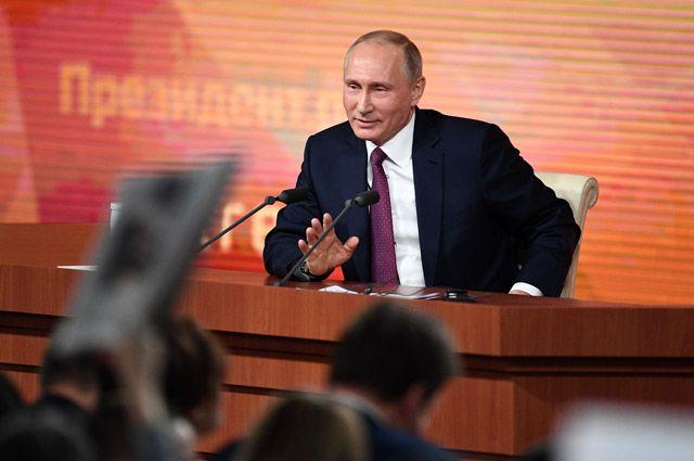 Анекдоты и интересные ребята. 11 тезисов Путина с Большой пресс-конференции