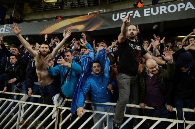 «Реал Сосьедад» заявил, что файеры на стадион пронесли сотрудники «Зенита»