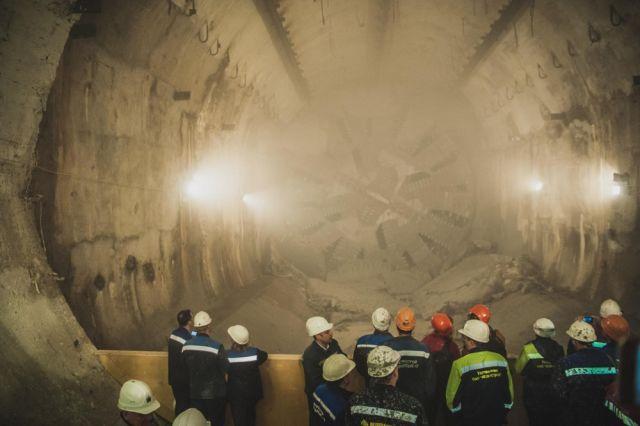Тоннель добудущей станции-призрака проложили вПетербурге