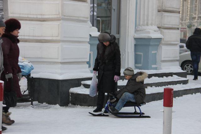 Снежно будет в Иркутске 15 декабря.