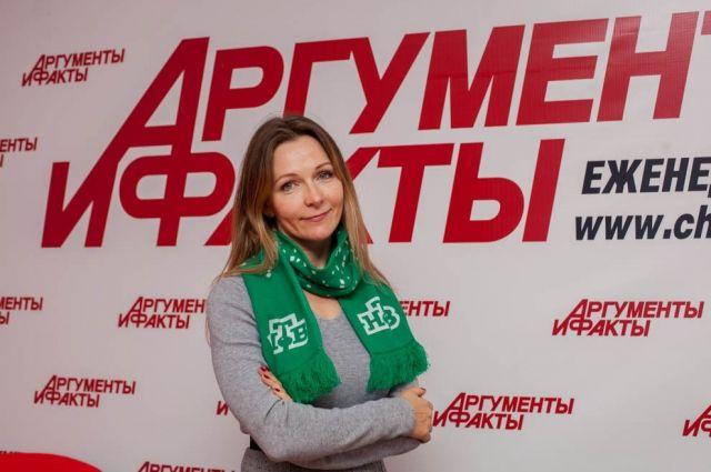 По обратную сторону объектива журналист Инна Осипова