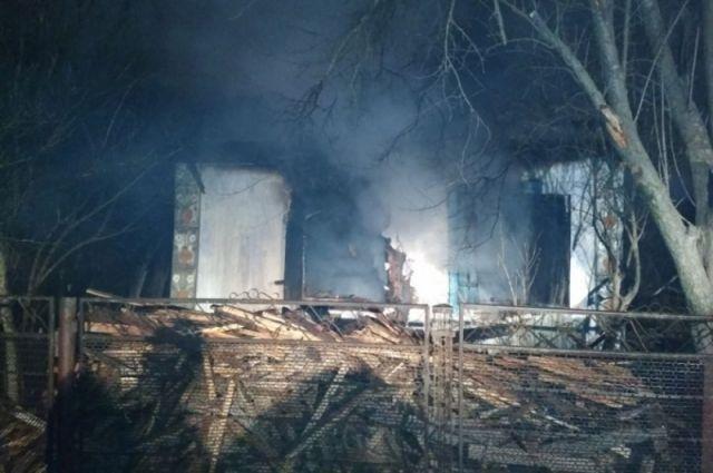 Пожар встанице Ханской унёс жизни троих человек