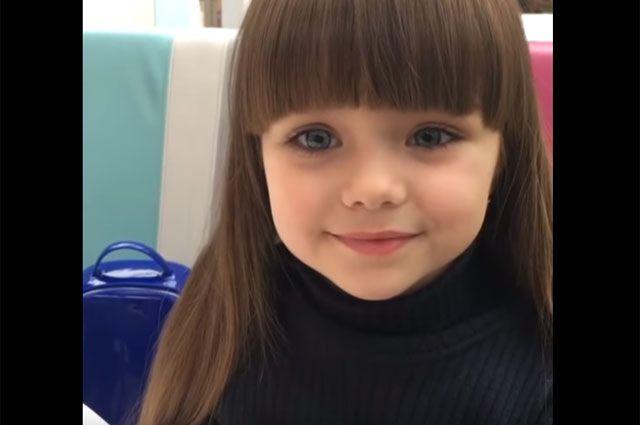 Наша Настя. Юную пермячку признали самой красивой девочкой мира