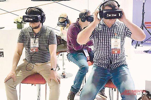 В VR-очках можно перенестись в любой заповедник России.