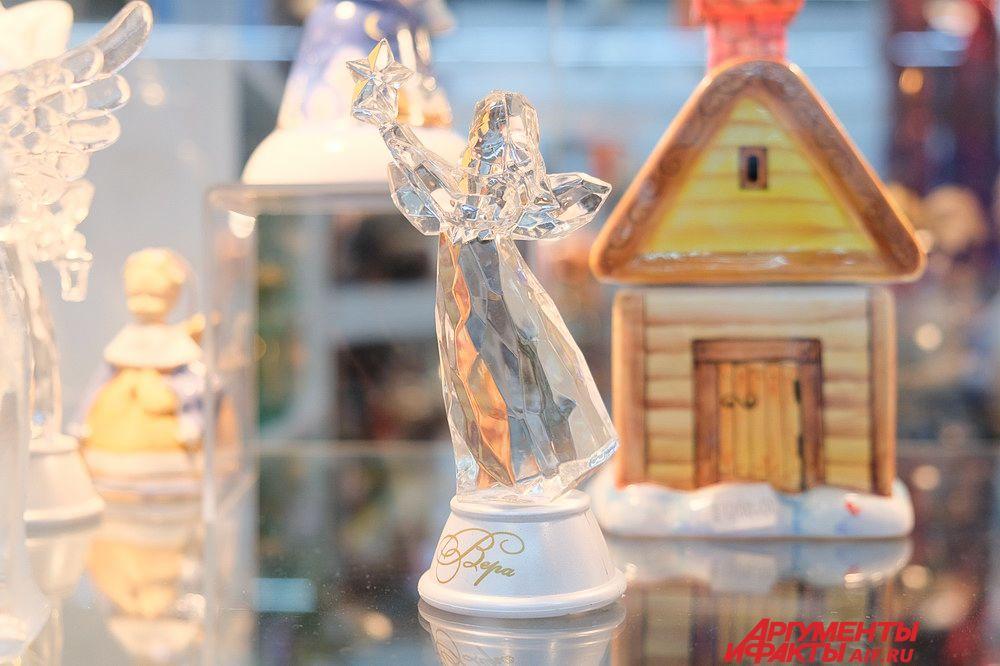 Ярмарка новогодних подарков открылась в Перми 15 декабря на площадке ВО «Пермская ярмарка».