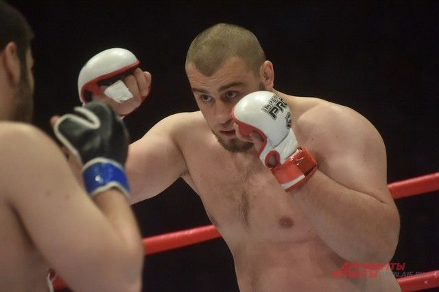 Бурков «сводил» Фадину на турнир «Fight Nights»