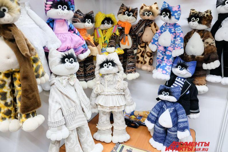 Авторские игрушки серии «Тёплый кот».