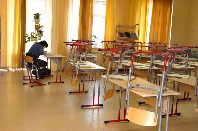 Занятия в школах из сильных морозов могут отменить.